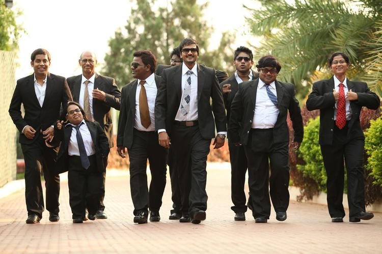 Sairam Smart Look In Blazer Photo Still From Movie 1000 Abaddalu