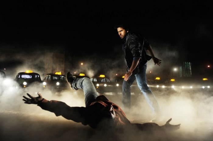 Ram Charan In Action Photo Stil From Movie Naayak