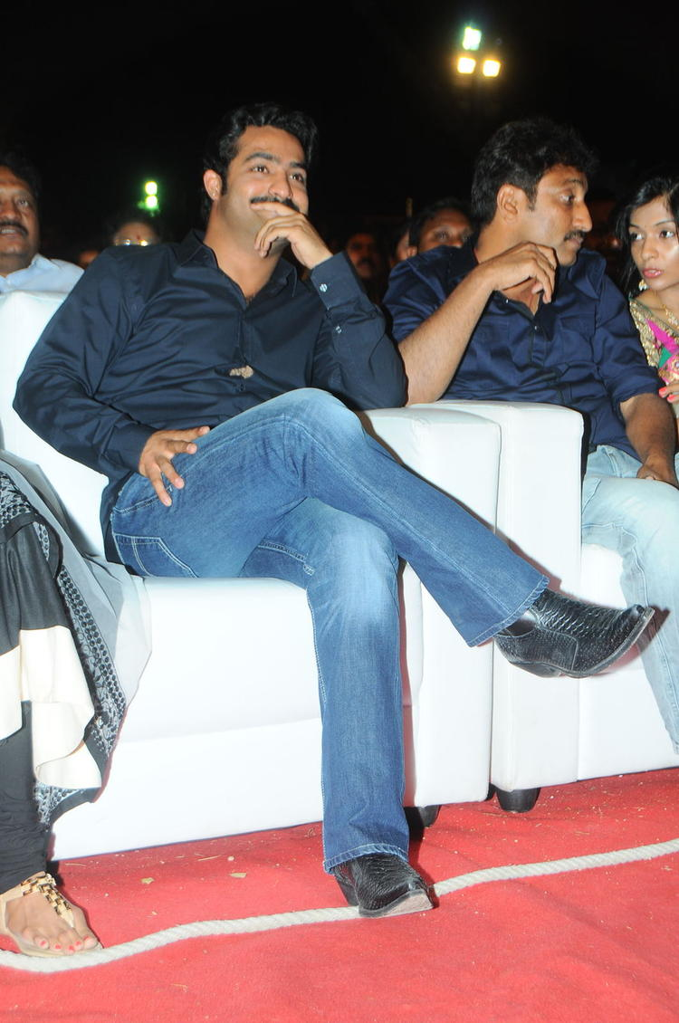 Jr. NTR Smiling Look At Baadshah Audio Launch Function