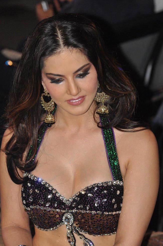 Sunny Leone Hot Look At The Music Launch Of Shootout At Wadala