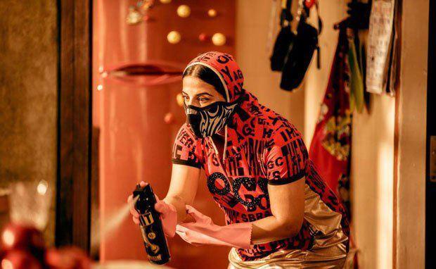 Vidya Balan Latest Photo Still From Movie Ghanchakkar