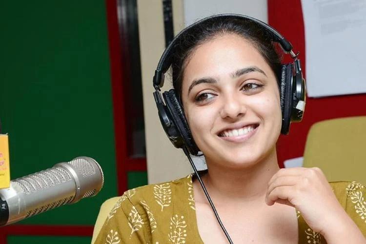 Nitya Menon Superb Look Photo Still At Radio Mirchi