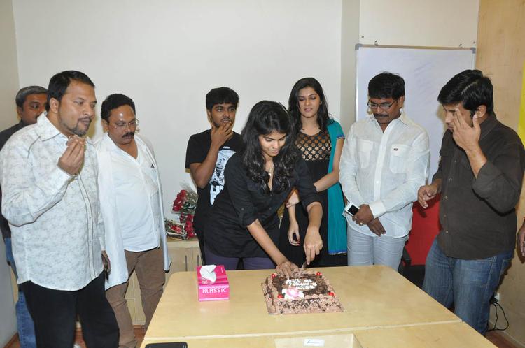 RP Patnaik,Ramesh,GV Prakash And Subramaniam Spotted At Udhayam NH4 Movie Audio Launchm