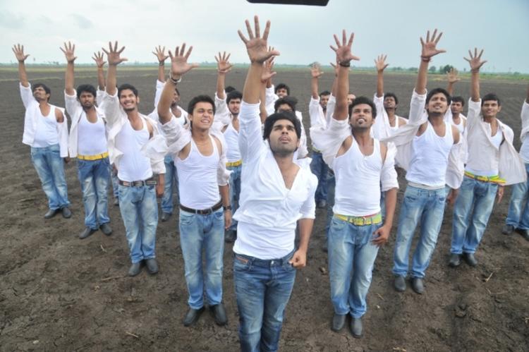 Allu Sirish Dancing Photo Still From Movie Gouravam
