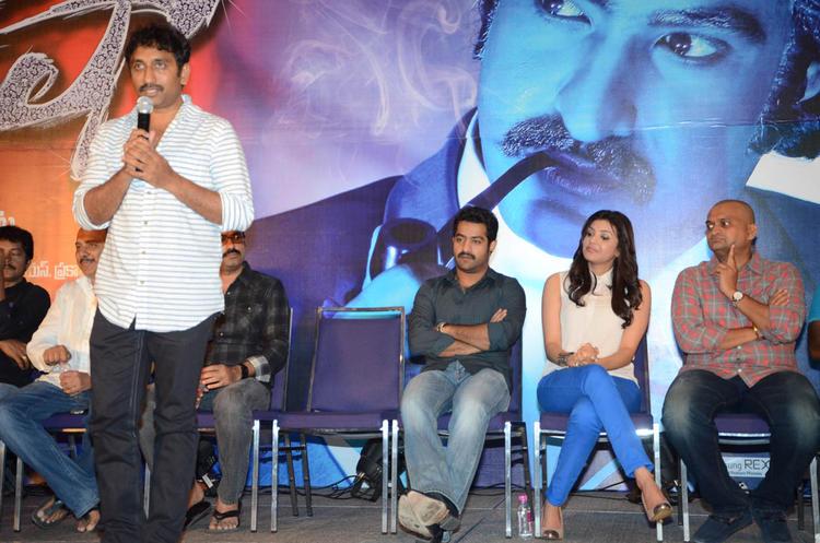 Bandla Ganesh Addressed The Audience At Baadshah Movie Success Meet