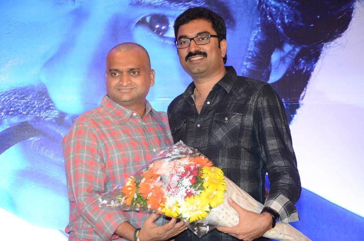 Bandla Ganesh Greets A Guest At Baadshah Movie Success Meet