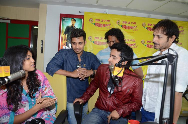 Revanth Snapped At Radio Mirchi To Promote Intinta Annamayya