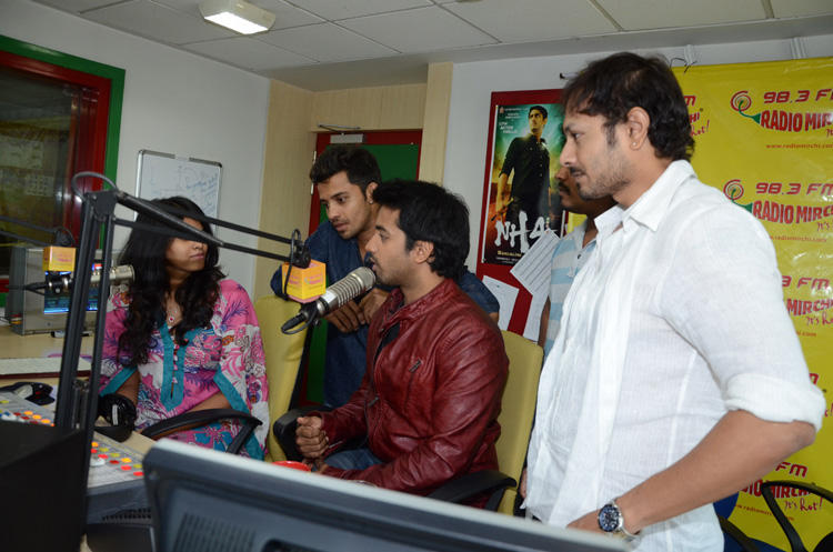Revanth Speaks Out Photo Clicked At Radio Mirchi During Promotion Of Intinta Annamayya