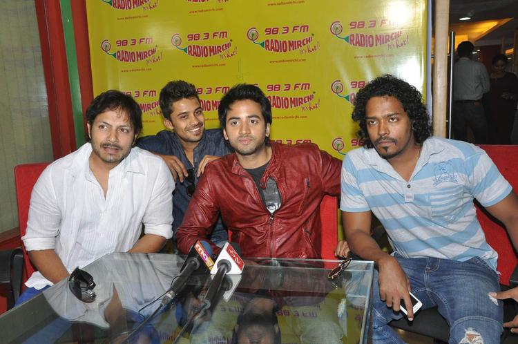 Revanth Spotted At Radio Mirchi To Promote Intinta Annamayya