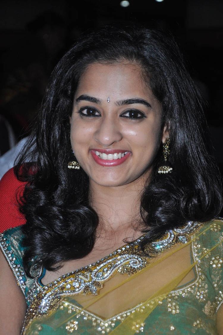 Nandita Cute Smiling Look At Prema Katha Chitram Audio Release Function