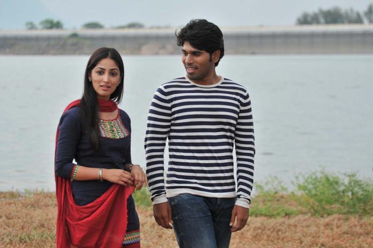 Sirish And Yami Rxclusive Photo Still From Movie Gouravam