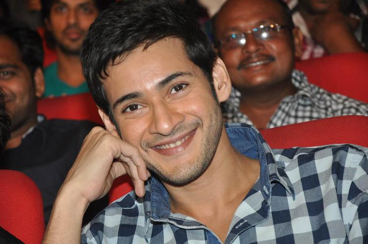 Mahesh Cute Smiling Photo Clicked At Premakadha Chitram Audio Release