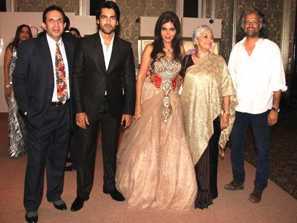 Parvez,Arjun,Nisha,Geetu And Samar Present At Launch of Zoya Jewels Of The Crown Jewellery Line
