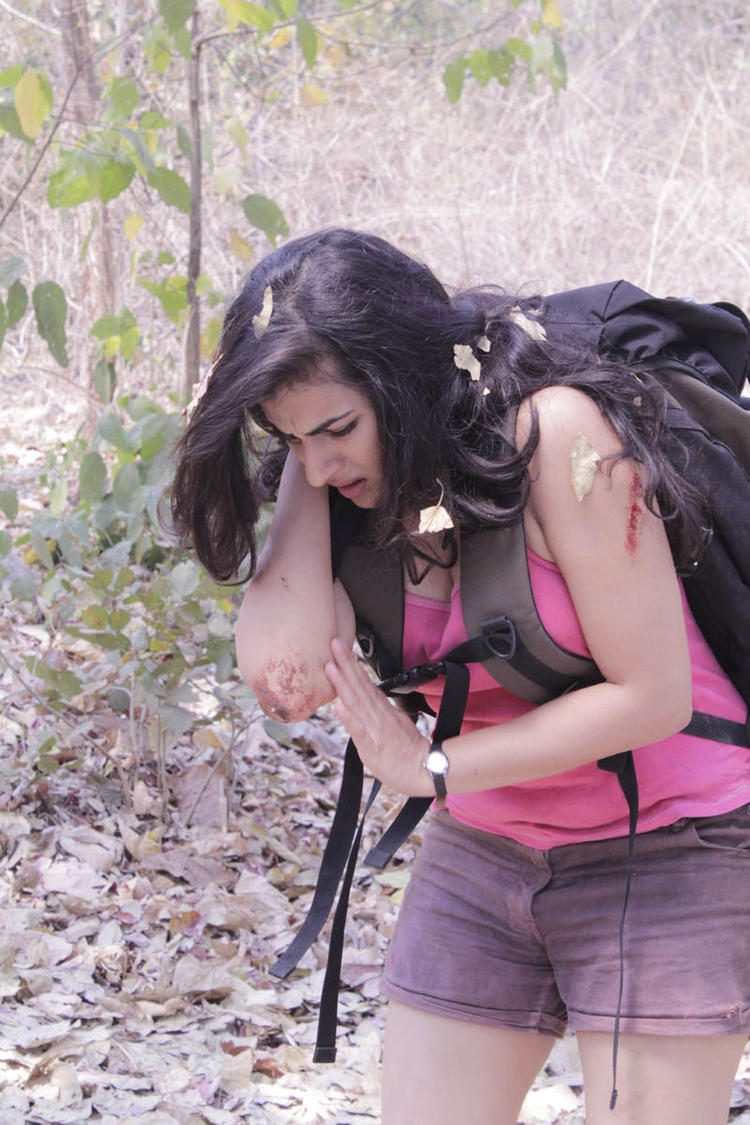 Archana Hurt Photo Still From Movie Panchami