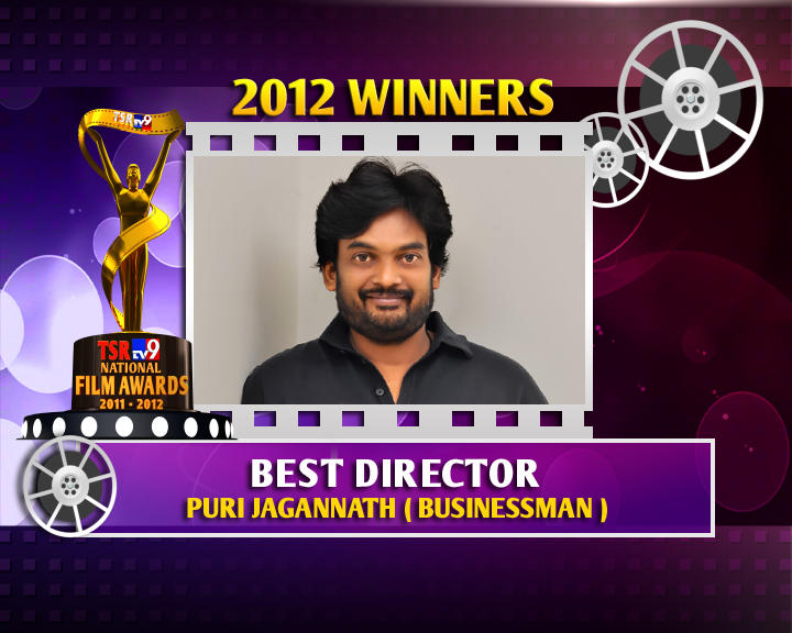 Puri Jagannath Is The Winner Of Best Director For The Businessman Movie