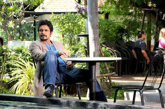 Nagarjuna Rocking Style Photo Still From Movie Greeku Veerudu