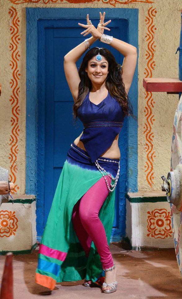 Nayantara Sexy Look Dance Photo Still From Movie Greeku Veerudu