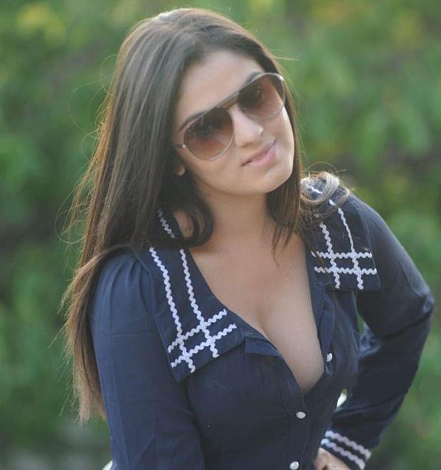 Lucky Sharma Hot Cleavage Show Photo Shoot