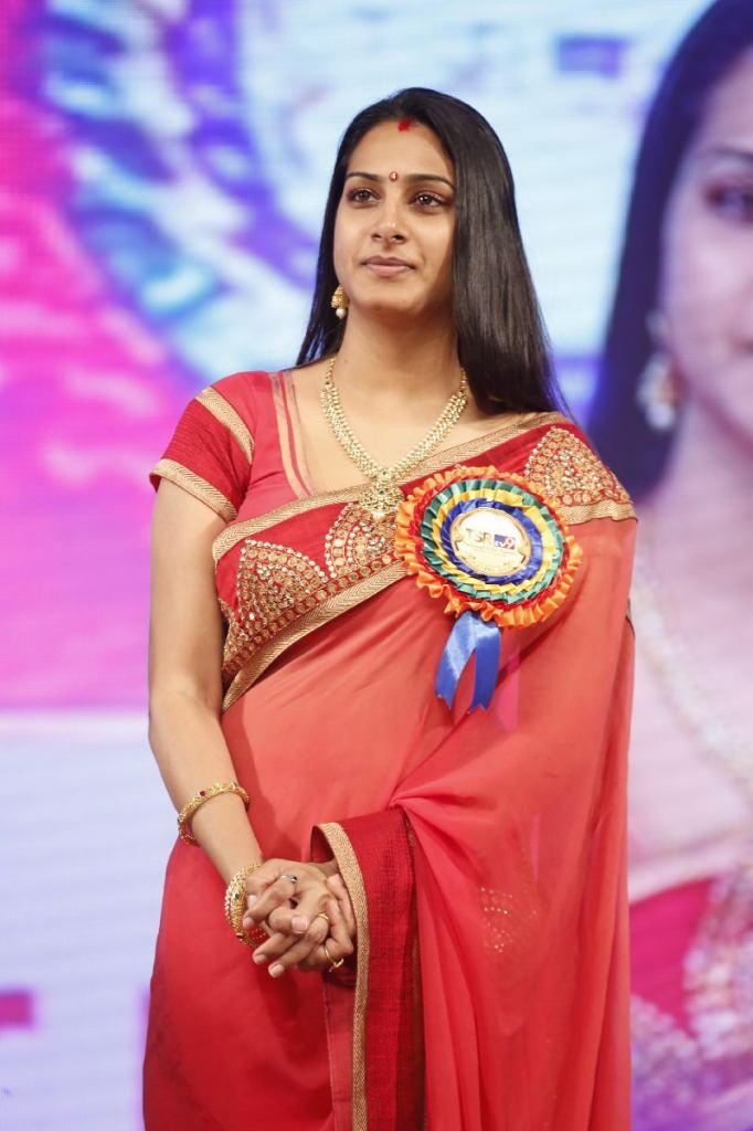 Surekha Vani Graced At TSR TV9 Film Awards Function