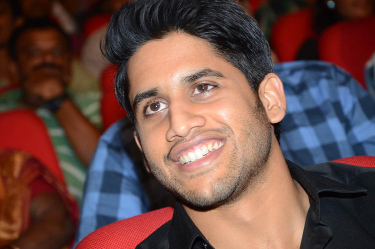 Naga Chaitanya Cute Face Look At Tadakha Movie Audio Release Function