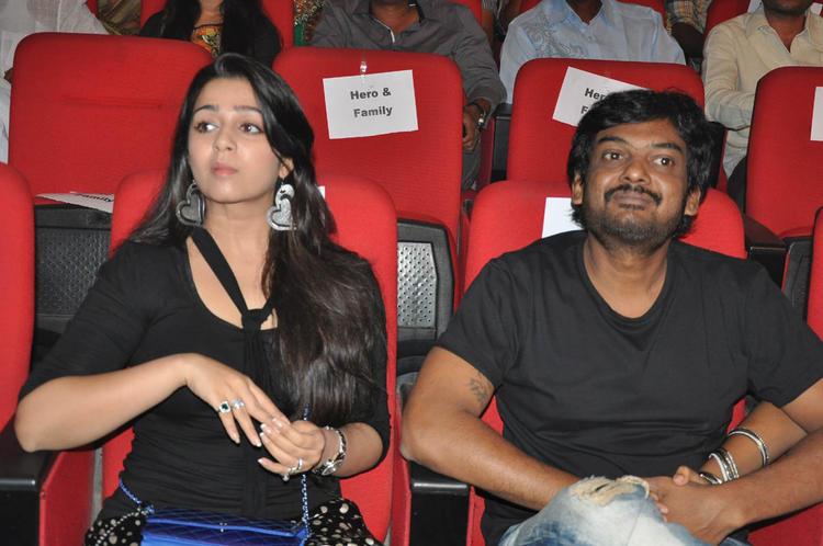 Charmy Kaur And Puri Jagannadh At Iddarammayilatho Audio Launch Function