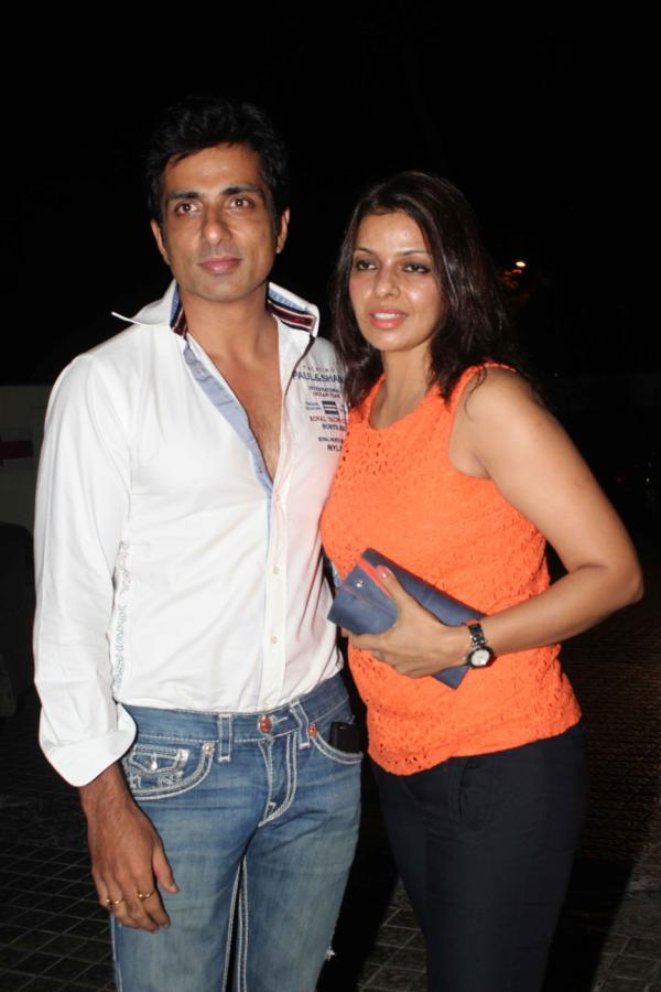 Sonu Sood Clicked At Special Screening Of Shootout At Wadala