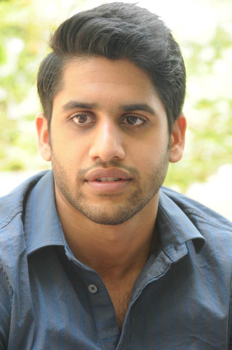 Naga Chaitanya Handsome Look During The Interview Of Thadaka Movie