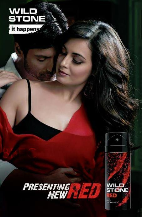 Dia Mirza Sexy Spicy Photo Shoot For Red Wild Stone TVC Ad