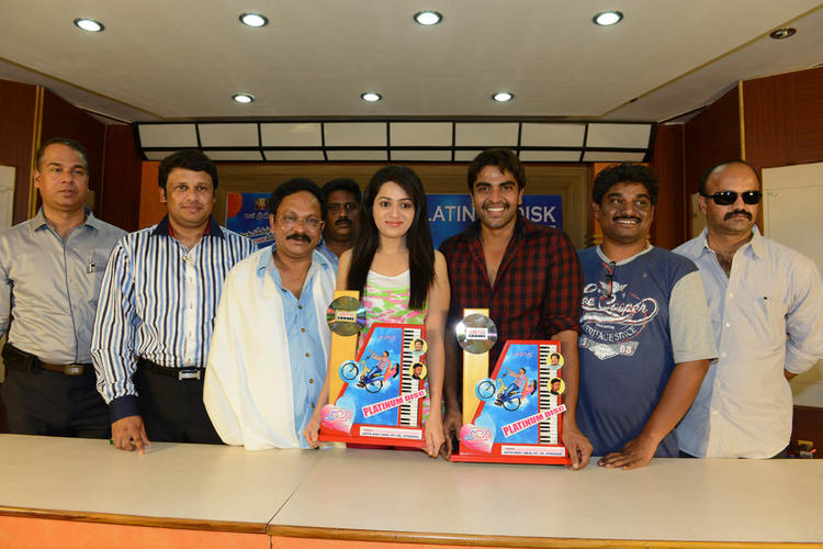 Reshma And Srinivas Launches Movie Love Cycle Platinum Disc  With Others