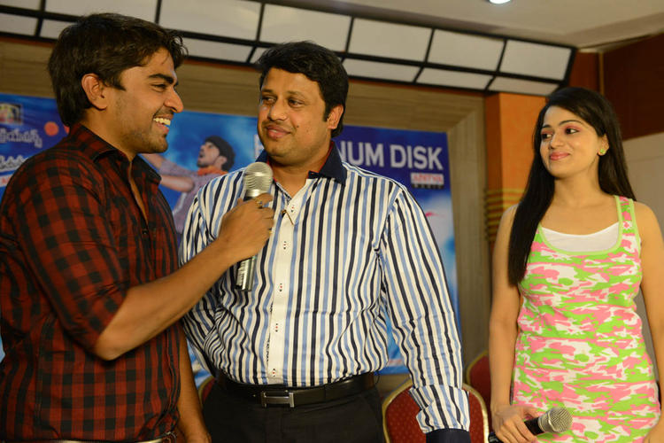 Reshma And Srinivas At Love Cycle Platinum Disc Function