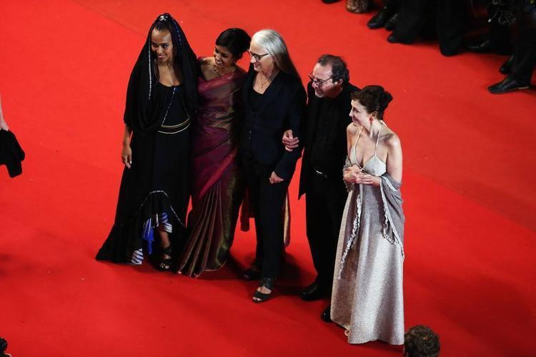 Maji-Da,Nandita,Jane,Semih And Nicoletta In Red Carpet At Only God Forgives Premiere In 66th Cannes 2013