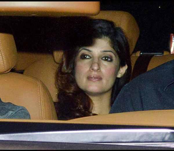 Dazzling Twinkle Khanna At Karan Johar's Birthday Bash