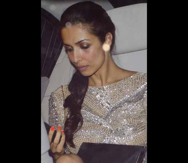 Hot Babe Malaika Arora Khan Attend Karan Johar's Birthday Party