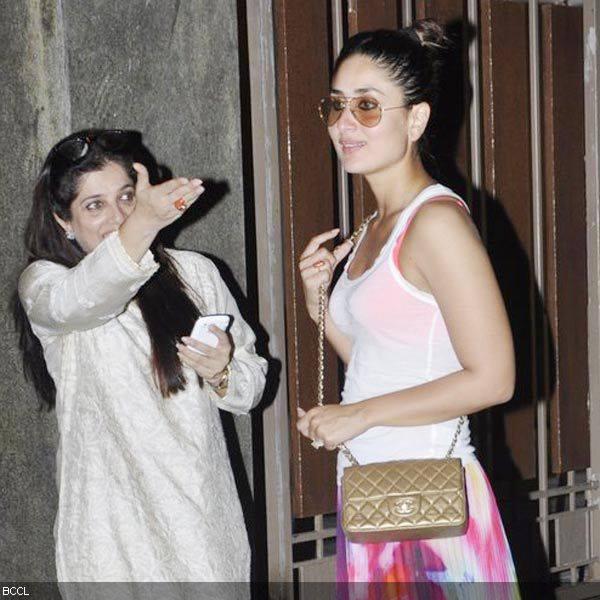 Hot Bollywood Babe Kareena Kapoor Grace Kunal Khemu Birthday Bash
