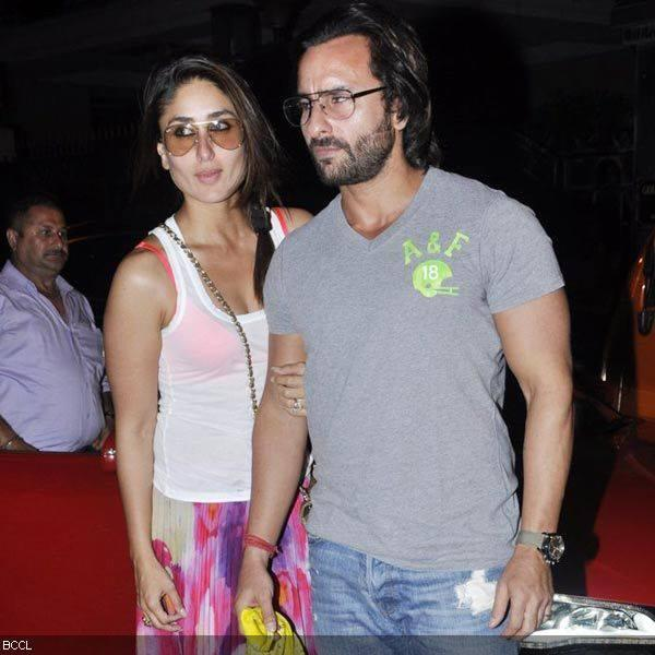 Kareena With Her Hubby Saif At Sister In Law Hosted Party For Kunal Khemu