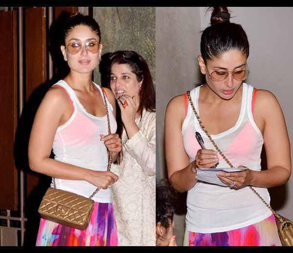Kareena Kapoor Spotted At Kunal Khemu Birthday Bash