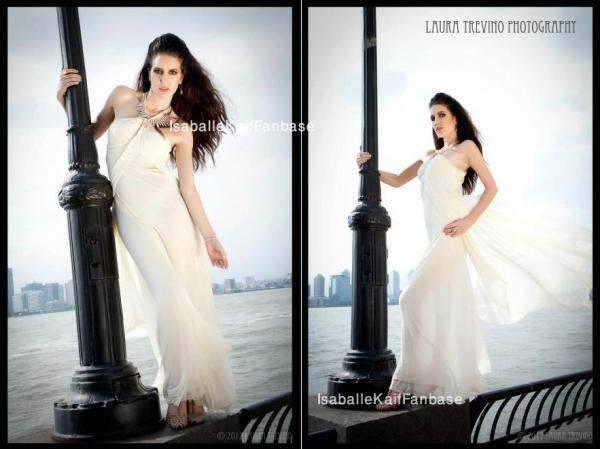 Isabelle Kaif Strikes Pose For Photo Shoot