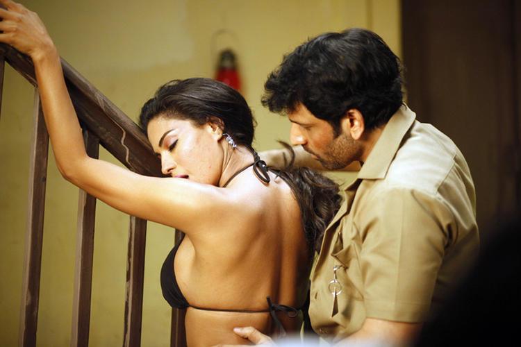 Veena And Rajan Latest Spicy Pic In Telugu Movie Rangeela