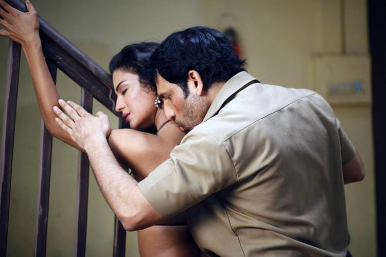 Veena Hot With Rajan In New Telugu Movie Rangeela