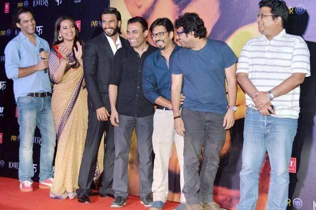 Vikramaditya,Sonakshi,Ranveer And Amit Cool Look Graced At Lootera Movie Audio Release Event