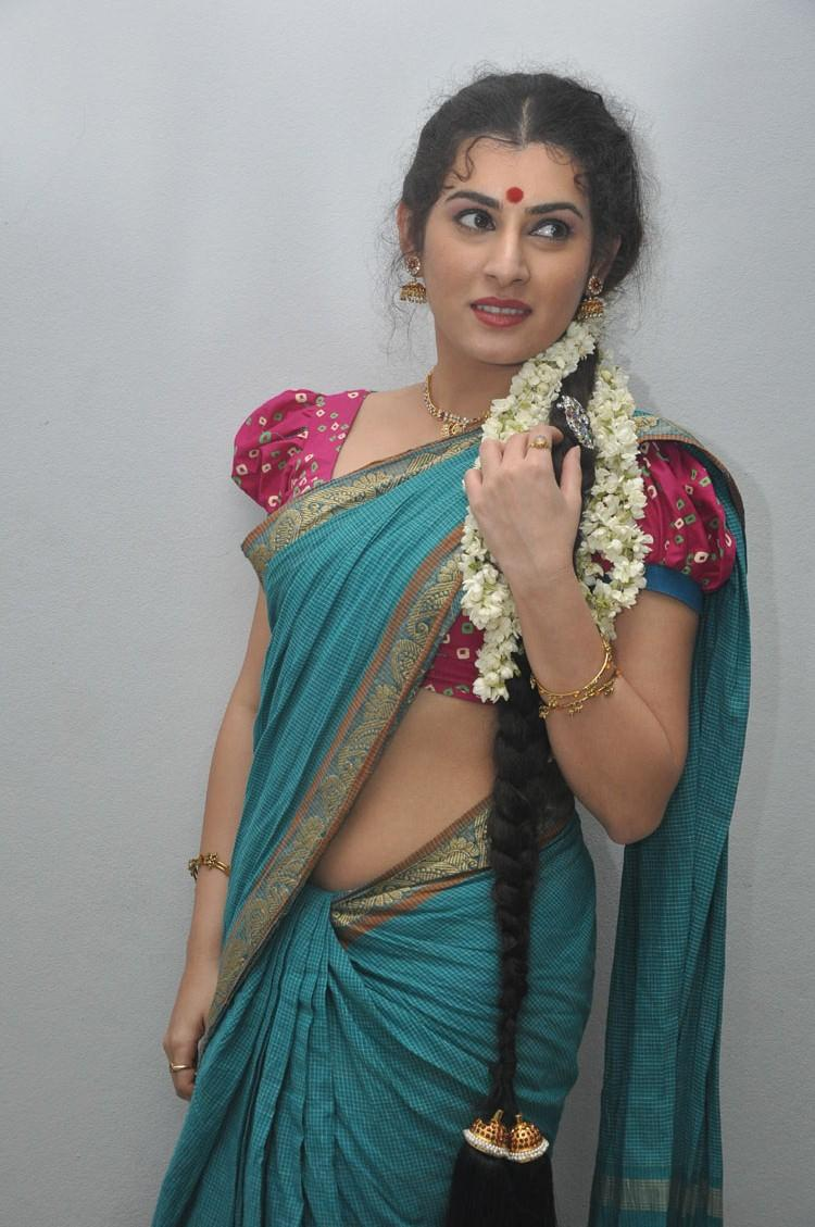 Archana Hot Look Pose At Maha Bhaktha Siriyala Movie Audio Release Function