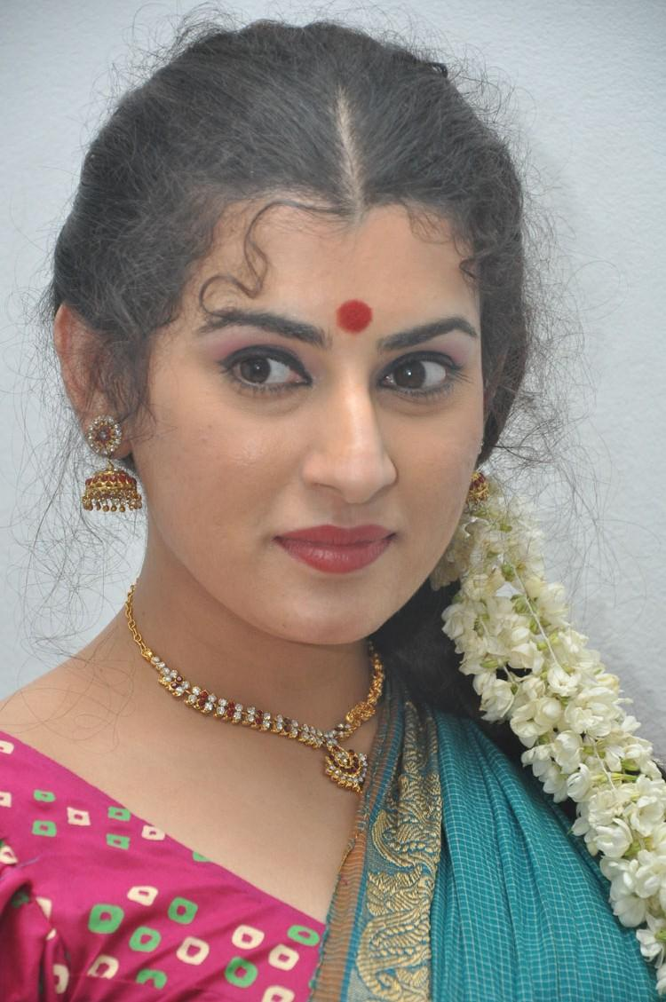 Archana Ravishing Look At Maha Bhaktha Siriyala Movie Audio Release Function