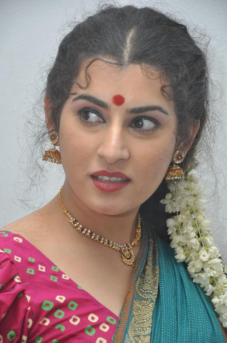Archana Stunning And Charming Look At Maha Bhaktha Siriyala Movie Audio Release Function
