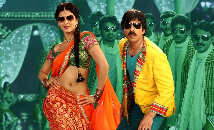 Shruti Haasan With Ravi Teja Hot Pics From Balupu