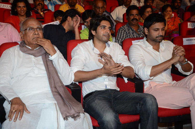 Sumanth,Sushanth And Nageswara Rao At Adda Movie Audio Launch Function