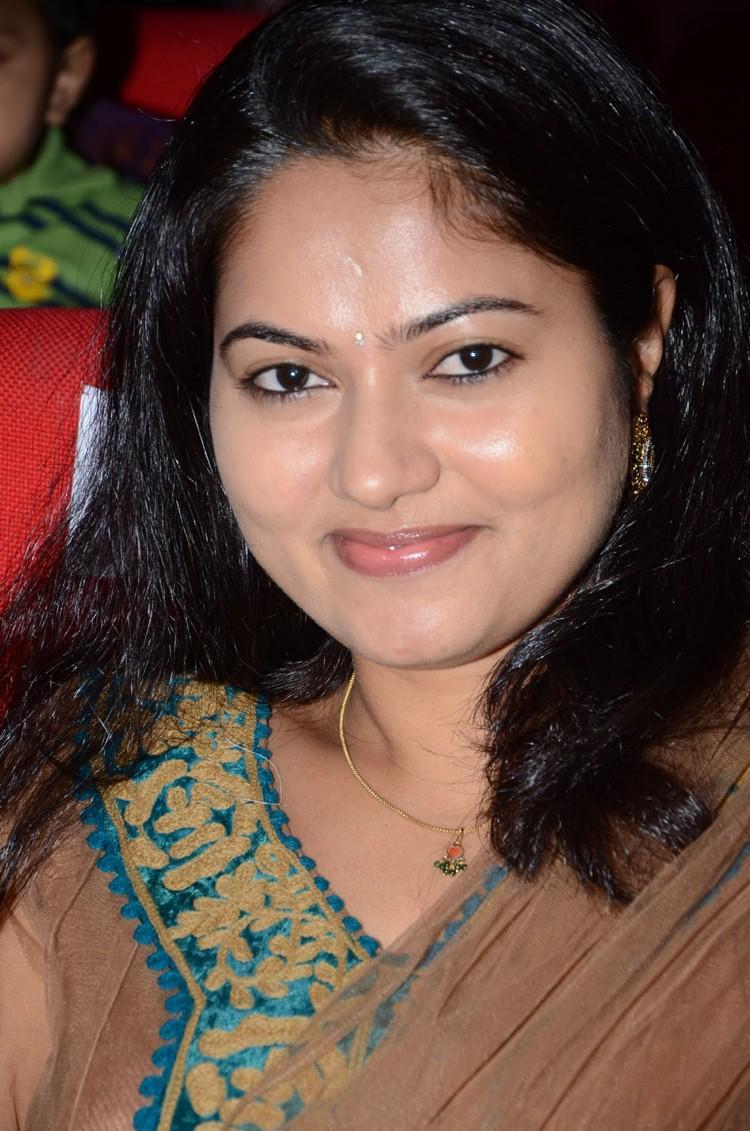Suhasini Cute Smiling Still At Adda Movie Audio Release Function