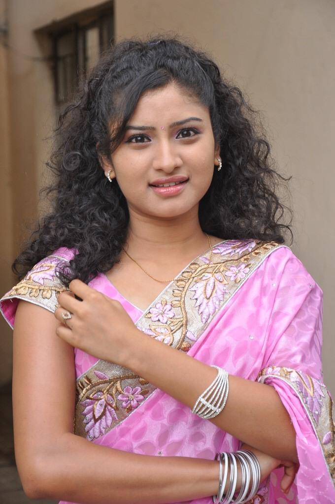 Vishnu Priya Nice Look Pose During The Launching Event Of Prayaas Style Affair Life Style Exhibition