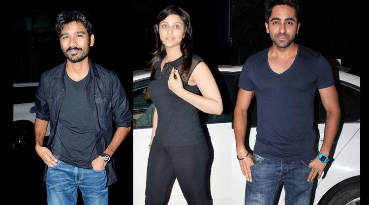 Dhanush,Parineeti And Ayushmann Attend The Birthday Bash Of Arjun Kapoor