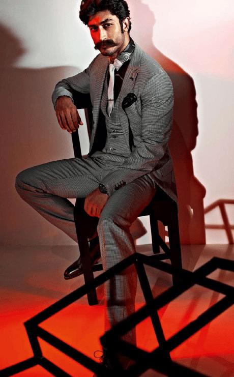 Vidyut Jamwal Moustache Look Photo Shoot For GQ India Magazine July 2013