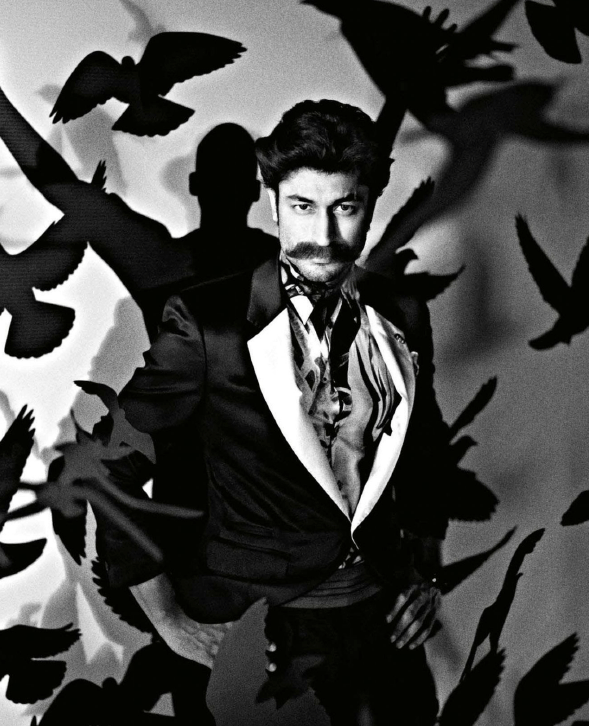 Vidyut Jamwal Stylish Cool Look Photo Shoot For GQ India Magazine July 2013